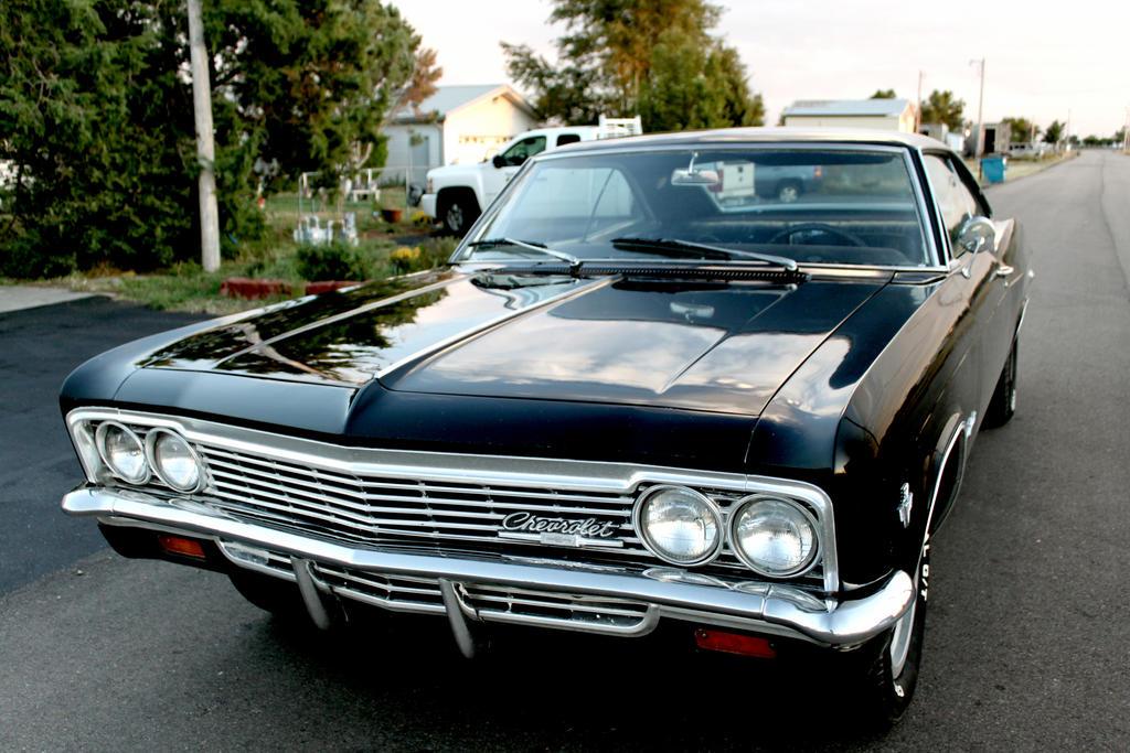 1966 Chevy Impala Black