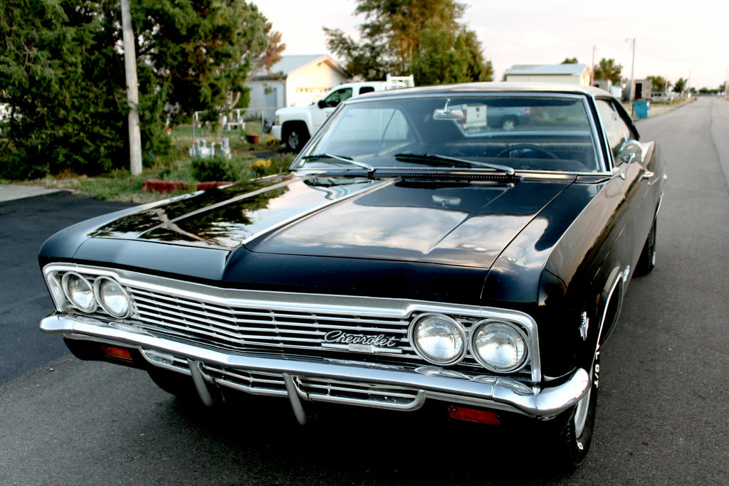 Black 1966 Chevy Impala SS by Osmethae on DeviantArt