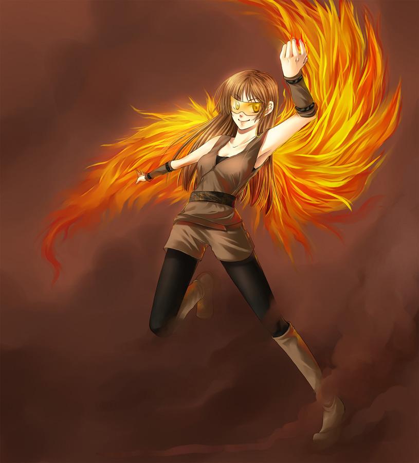 COMM: Fire Wings by itsAriecha on DeviantArt