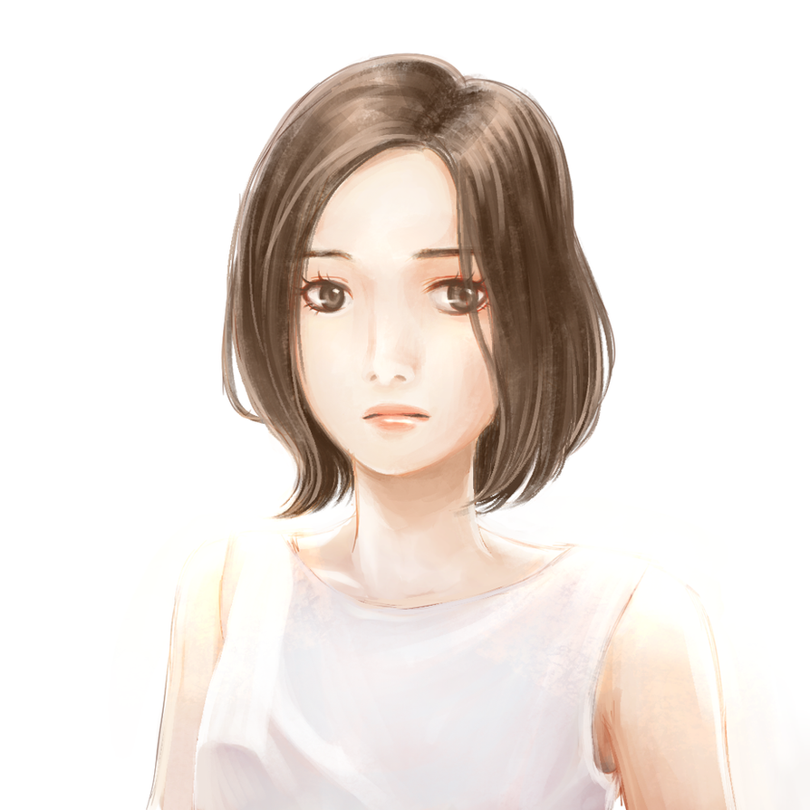 Girl Short Hair Quotes : A girl short hair by itsariecha on deviantart