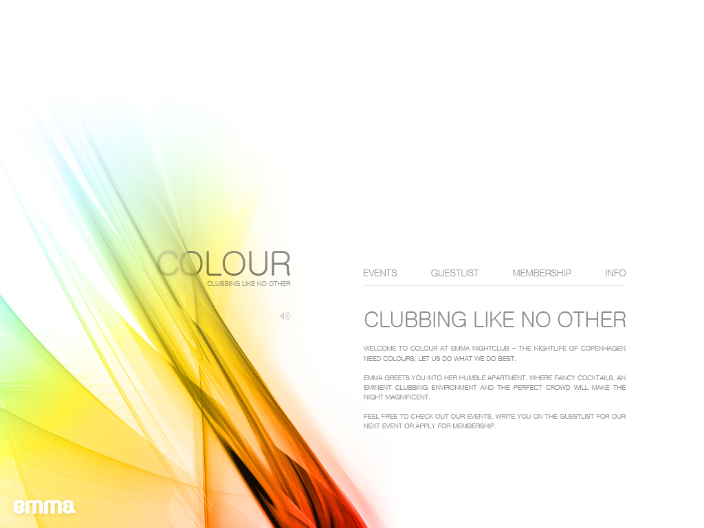 Colour - Webdesign by Noergaard
