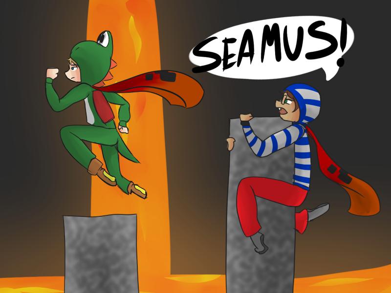 SEAMUS! by CaitlinBear