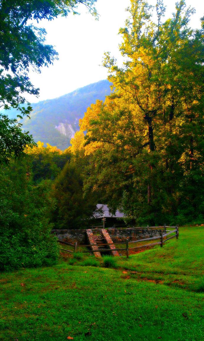 mountain landscape - edited by scornedlove