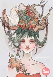 Gaia by bunnycoffee