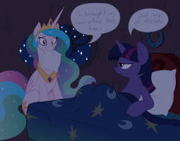 ''I can has sleepover?'' -- Unshaded Vector by krazy3