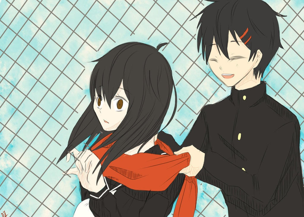 Male!Ayano x Reader: Airplanes by OverAffectionateFan on