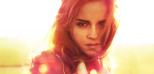 Emma Watson LP by chromium-art