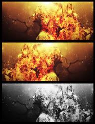 Hair Fire by chromium-art
