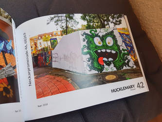 my monster in a book by Hucklemary