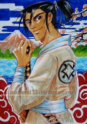The Handsum Samurai by natsumi33