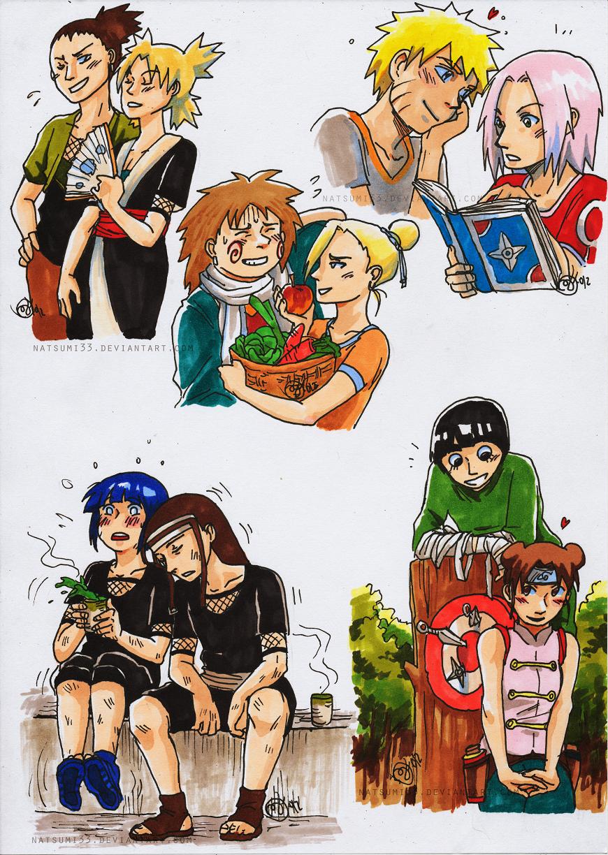 Naruto Otps By Natsumi33 On Deviantart