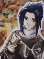 Smiling Sasuke by natsumi33