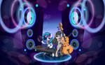 Vinyl Scratch and Octavia Melody