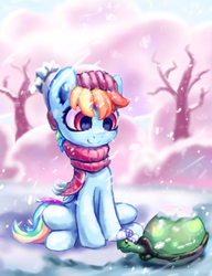Winter Dash by INowISeeI