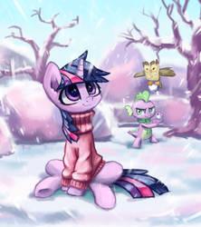 Winter Twi by INowISeeI