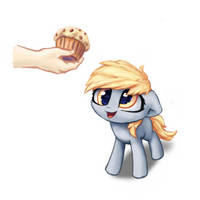 Some muffins for Derpy by INowISeeI