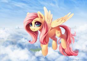 Fluttershy by INowISeeI