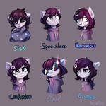 Rainfall's 3rd expressions pack