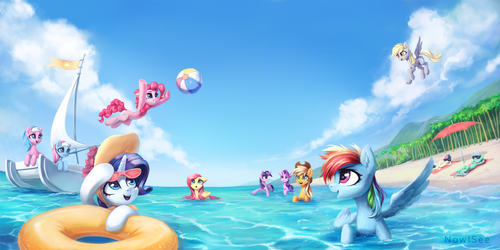 Summer by INowISeeI