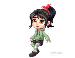 Vanellope by INowISeeI