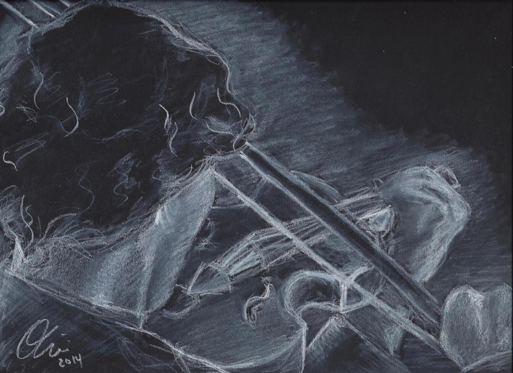 Sherlock's Violin by thestarvingartist1