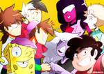 Nicktoons Unite x Steven Universe