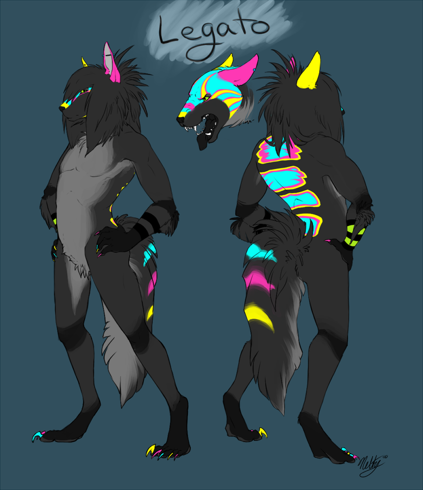 Ref Commission - Legato by Neltruin