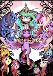 Birth of princess Twilight by Shira-hedgie