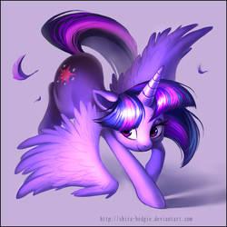 Purple dance - Twilight Sparkle by Shira-hedgie