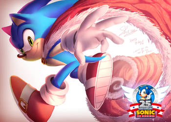Happy 25th Birthday Sonic ! by Shira-hedgie