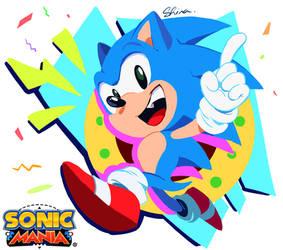 Twitter - Sonic Mania fan-art