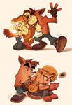 Crash Bandicoot is best big brother