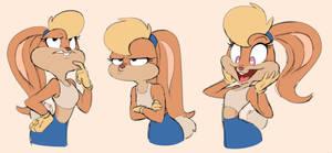 Lola Bunny Sketches