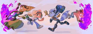 CROSSOVER Ratchet and Clank x Crash Bandicoot