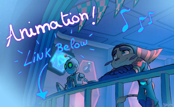 RATCHET AND CLANK CHILL ANIMATION