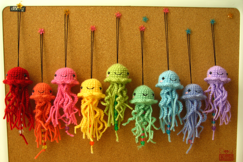 The Crayola of Jellyfish by PosiPlush on DeviantArt
