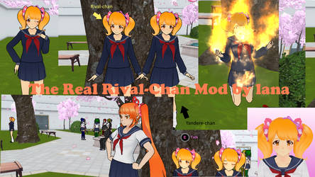 The Real Rival-Chan Mod by lana by LanaRoseCookieSweet
