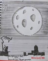 A fool moon by hesitatedboy