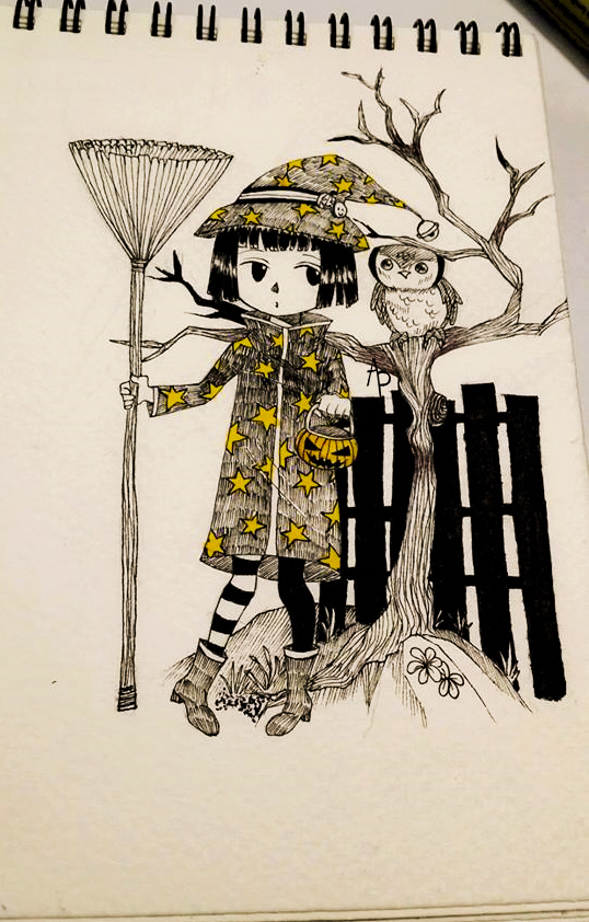 A little witch ! by TearsCampFalless