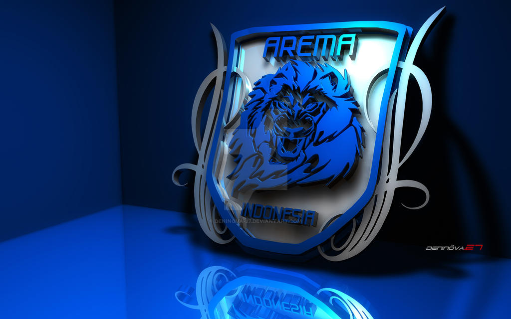3d Logo Arema Arena Model Cgstudio Nba Espn Indonesia Deninova