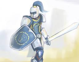 Alliance Guard ( wow ) by cjohn22