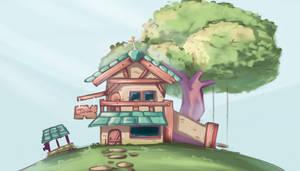 Hilltop House by cjohn22