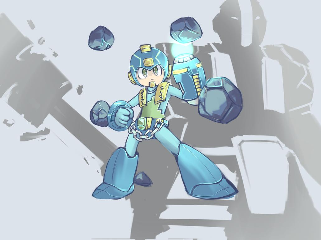 Megaman x EarthSpirit by cjohn22