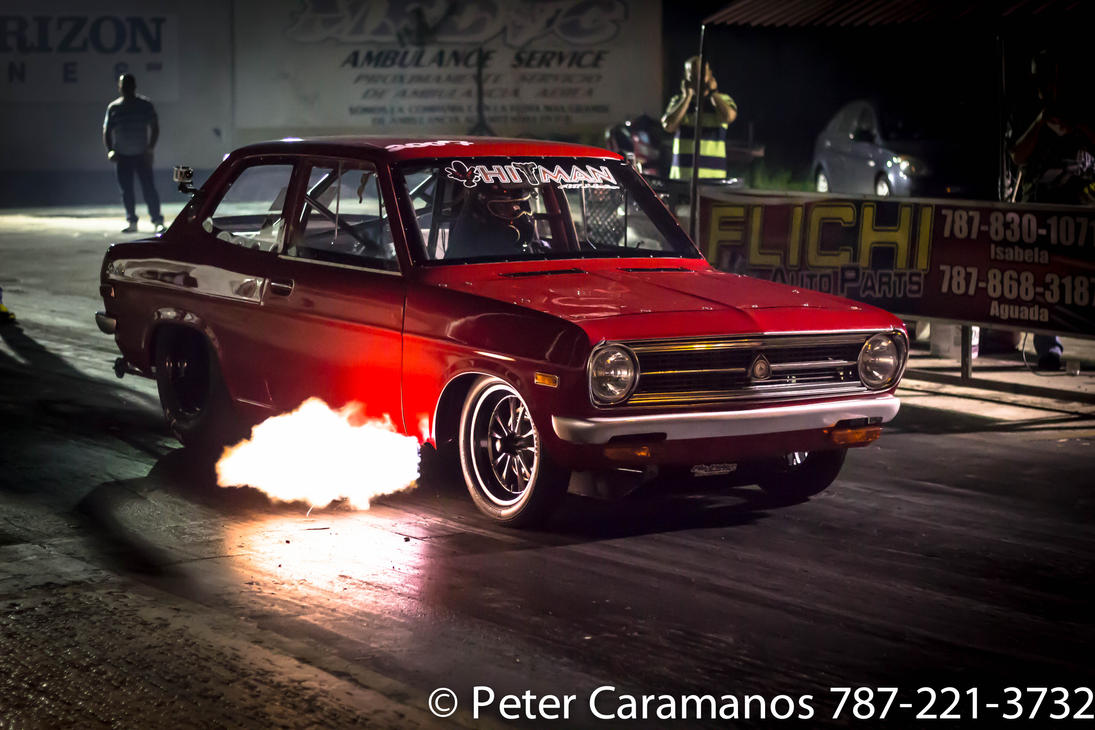 Turbo Rotary Powered car at the drag strip by Caramanos2000 on ...