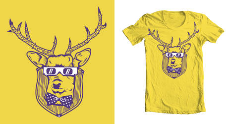 deer to my heart - t shirt by neilakoga