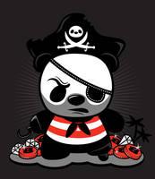 pirate panda by neilakoga