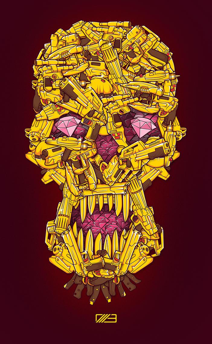 Diamonds and Guns by neilakoga