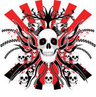skulls and skulls and skulls.. by neilakoga