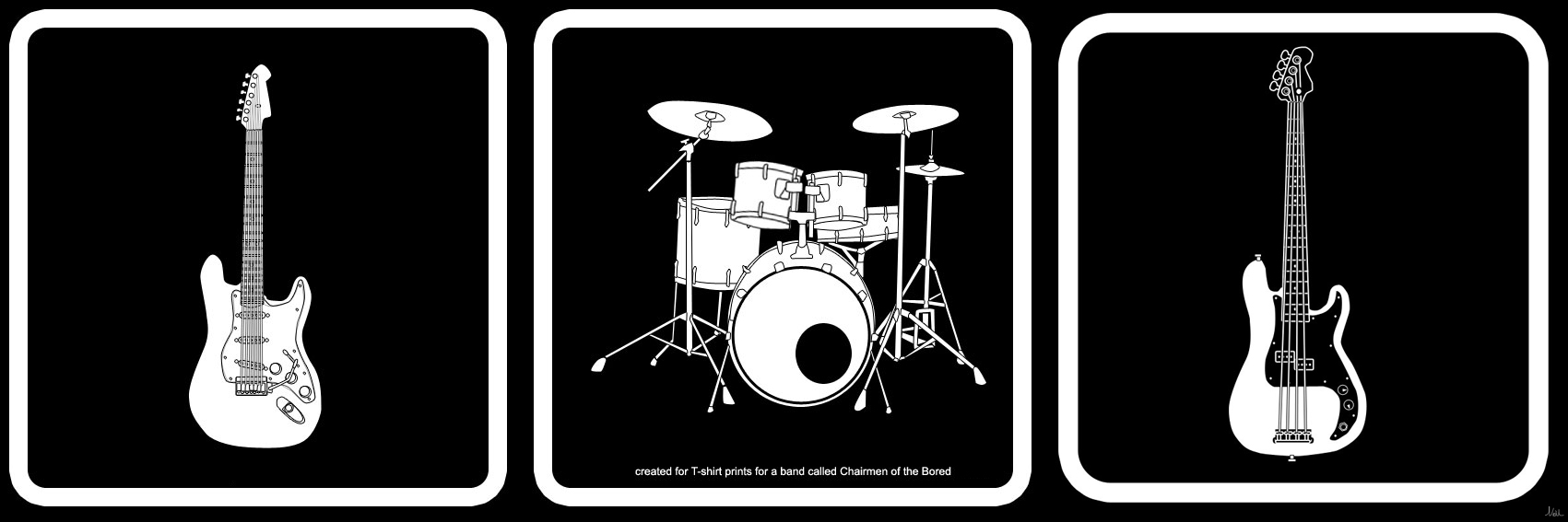 Guitar And Drums Wallpaper Guitar Drums And Bass by