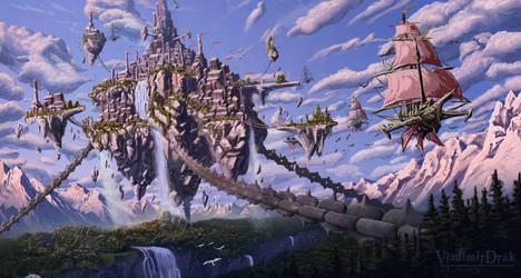 Nemoa Impirial City from The Legend of Alandur